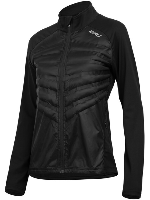 2XU Heat Half Puffer Jacket Women black/black